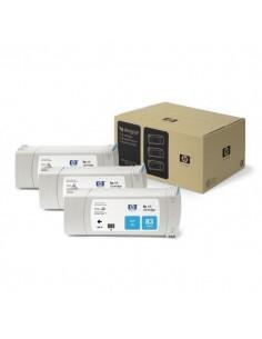 Originale HP inkjet conf. 3 cartucce dye 83 - 680 ml - ciano - C5073A