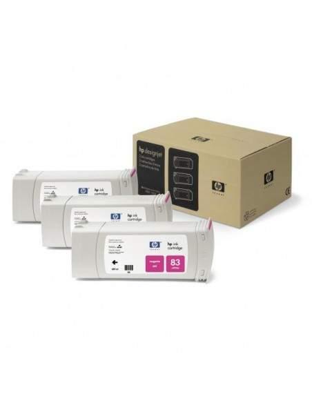 Originale HP inkjet conf. 3 cartucce dye 83 - 680 ml - magenta - C5074A