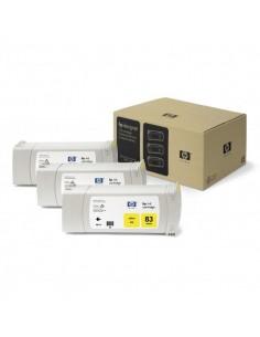 Originale HP inkjet conf. 3 cartucce dye 83 - 680 ml - giallo - C5075A