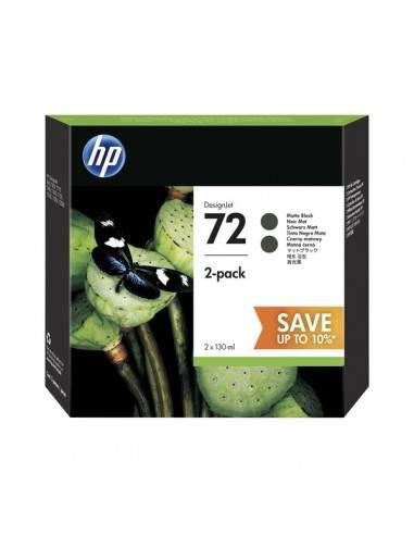 Originale HP inkjet conf. 2 cartucce 72 - 130x2 ml - nero - P2V33A