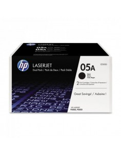 Originale HP laser conf. 2 toner 05A - nero - CE505D