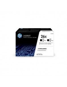 Originale HP laser conf. 2 toner A.R. 26X - nero - CF226XD