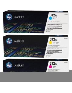 Originale HP laser conf. 3 toner 312A - c+m+g - CF440AM