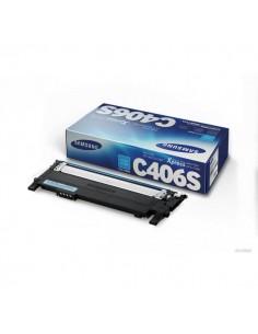 Originale Samsung laser toner CLT-C406S - ciano - ST984A