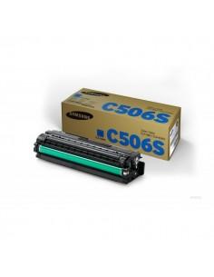 Originale Samsung laser toner CLT-C506S - ciano - SU047A