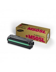 Originale Samsung laser toner CLT-M505L - magenta - SU302A