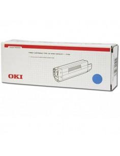Originale Oki laser toner A.R. TYPE C6 - ciano - 42127407