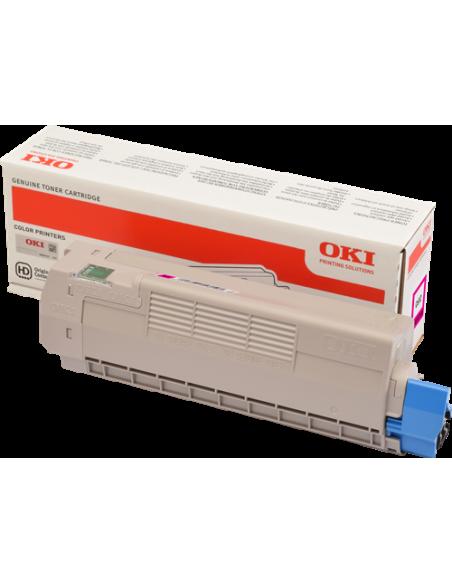 Originale Oki laser toner A.R. - giallo - 46507505