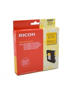 Originale Ricoh laser gel GC21 K202/G - giallo - 405535