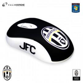 Techmade Minimouse Usb Ottico 800 Dpi Nero Juventus