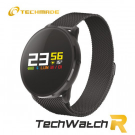 Techmade Smartwatch R1Metal Bla Ck