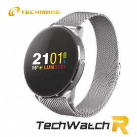 Techmade Smartwatch R1 Metal Sil Ver