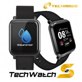 Techmade Smartwatch Techwatchs2-Bk