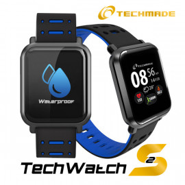 Techmade Techwatchs2 Dark Blue