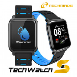 Techmade Smartwatch Techwatchs2 Blu Royal
