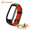 Techmade Cinturino Fit2.0 Black Red