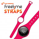 Techmade Cinturino Per Freetime In Gomma Pink