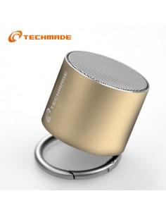 Techmade Speaker Gold Portatile Senza Filo TM-BF-120G