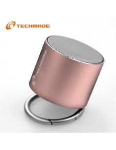Techmade Speaker Pink Portatile Senza Filo TM-BF-120P