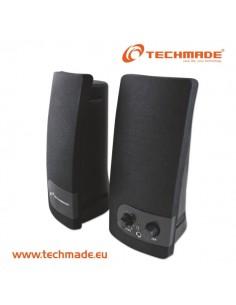 Techmade Tm-Sp-216 Speakers Ac Power Black