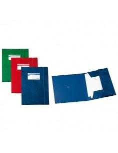 Cartellina Archivio 3L F Rosso 25X35Cm - 67300112