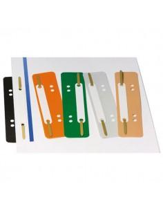 Conf. 250 Pressini In Abs 38X150Mm C/Linguette In Metallo Art.361 Col. Ass. - 361-B ASS