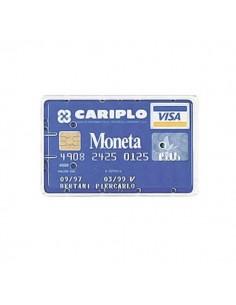 Busta Porta Cards 8,5X5,4 02/7828 Pvc Rigido Trasparente Favorit - 100500080 - (conf. 100)