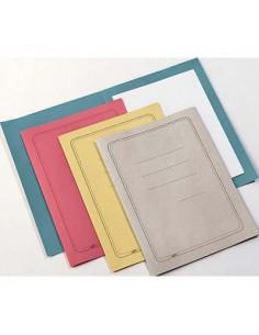 Conf. 100 Cartelline Semplici Rosso C/Stampa 145Gr - CG0113MFSXXAK02