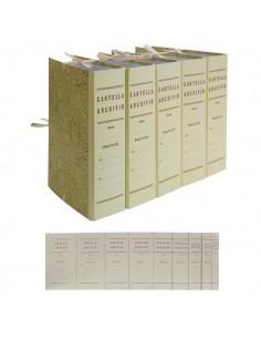 Faldone C/Legacci Juta 35X25Cm Dorso 10Cm - 0202202-10 - (conf. 25)