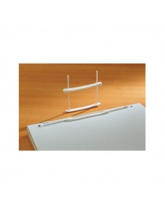 Conf. 100 Fastner In Plastica E200 Passo 80 Fellowes - 00895