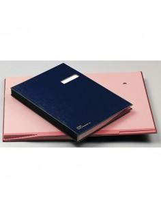 Libro Firma 18 Pagine 24X34Cm Blu 618-A Fraschini - 618A-BLU