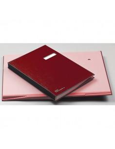 Libro Firma 18 Pagine 24X34Cm Rosso 618-A Fraschini - 618A-ROSSO