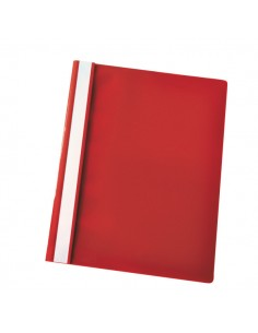 Cartellina Ppl Con Fermafogli 21X29,7 Rosso Report File Esselte - 28316 - (conf. 25)