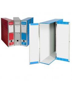 Scatola Archivio Box1 Blu 37,5X29,5X9Cm - RESX101-B