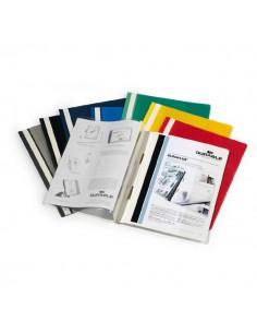 Cartellina A4 Ad Aghi Personalizzabile Bianco Duraplus 2579 - 2579-02 - (conf. 25)