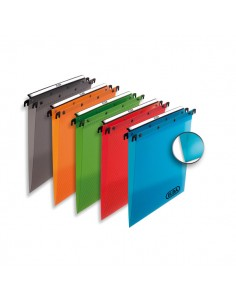Cartella Sospesa Cassetto 33/V In Ppl Traslucido Colori Ass. - 100330406 - (conf. 10)