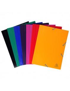 Cartella Ppl Con Elastico 24X32Cm Mix 7 Colori - 55900E - (conf. 60)