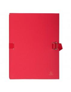 Cartella Dorso Estensibile Rosso Con Alette In Carta Exacompta - 223275E - (conf. 10)