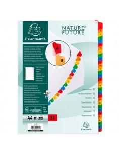 Separatore Numerico 1-31/A4 Maxi In Cartoncino 160Gr Exacompta - 4131E