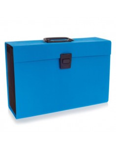 Archiviatore A Soffietto Azzurro 19Tasche Joy Rexel - 2104019