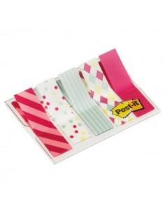 Dispenser 100 Segnapagina Post-It Index Mini 684 Candy 12X43.6Mm - 5126
