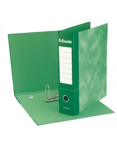 Registratore Essentials G72 Verde Dorso 5Cm F.To Commerciale Esselte - 390772180 - (conf. 8)