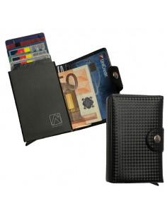 Portacard Wally Carbon 6X9,5Cm Nero Alplast - 1030SC/1