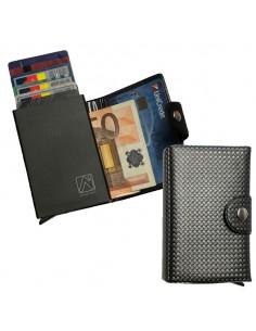 Portacard Wally Carbon 6X9,5Cm Grigio Alplast - 1030SC/2
