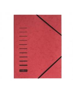 Cartellina Rossa Con Elastico In Cartoncino A4 Pagna - 24001-01