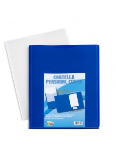 Cartella In Pp Personal Cover Blu 240X320Mm Iternet - 7151BL