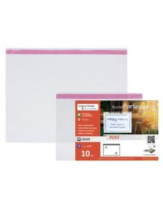 Conf. 10 Buste Porta Avvisi Orizzontali Post A5 - 21X15 Cm Seirota - 410021