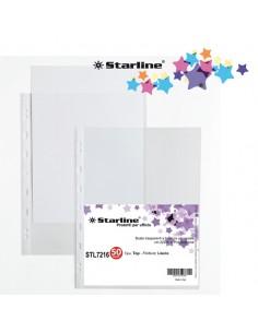 Conf. 50 Buste Forate 22X30Cm Liscio Top Starline - 662221stl