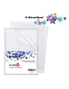 Conf. 50 Cartelline A L 22X30Cm Liscio Top Starline - 662319stl