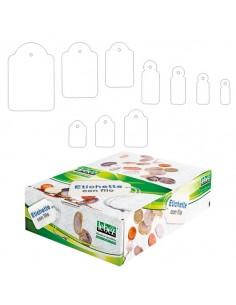 Scatola 1000 Etichette Con Filo A386 (13X34Mm) - A386